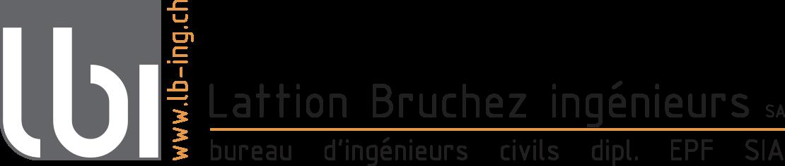 Lattion bruchez ingenieurs logo texte 20mm